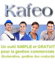 Kafeo, logiciel de gestion commerciale gratuit